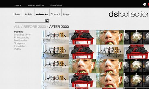 DSL collection, webdesign, stratégie internet-